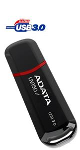 ADATA DashDrive UV150 USB 3.0 Flash Memory 64GB